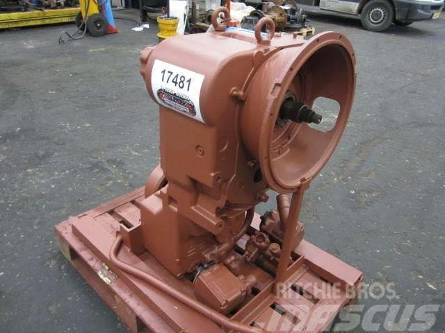ZF 4 WG 200 Transmission ex. Ljungby 1631