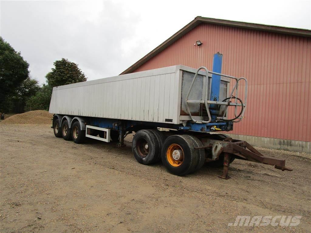 KEL-BERG Mega trailer Tiptrailer med Dolly