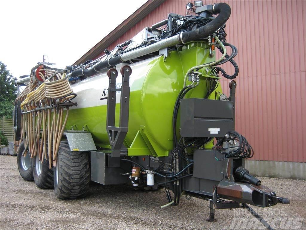 Kaweco 25m3 gyllevogn m/hjultræk