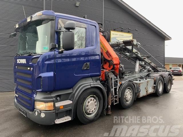 Scania R480 8X4 Euro 5