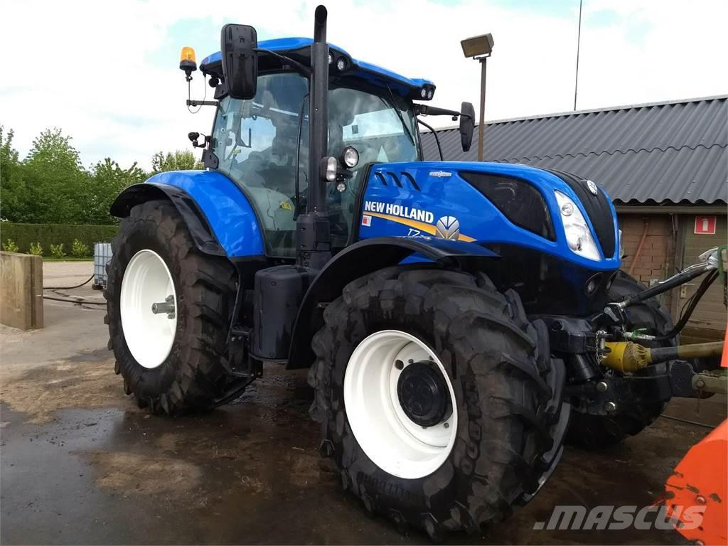 new holland t7 225 occasion  ann u00e9e d u0026 39 immatriculation  2016