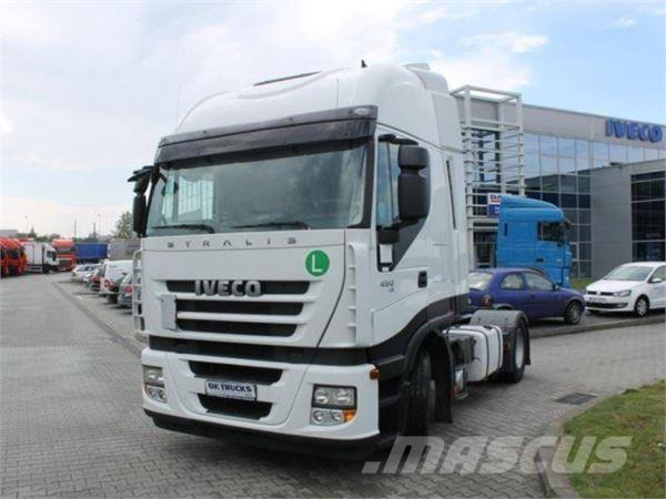 Iveco Stralis AS440S45TP, 2012, Dragbilar