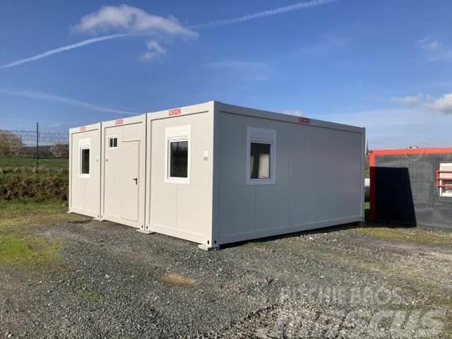 [Other] Roho Büro Container WC Dusche 3Stk Kompetanlage