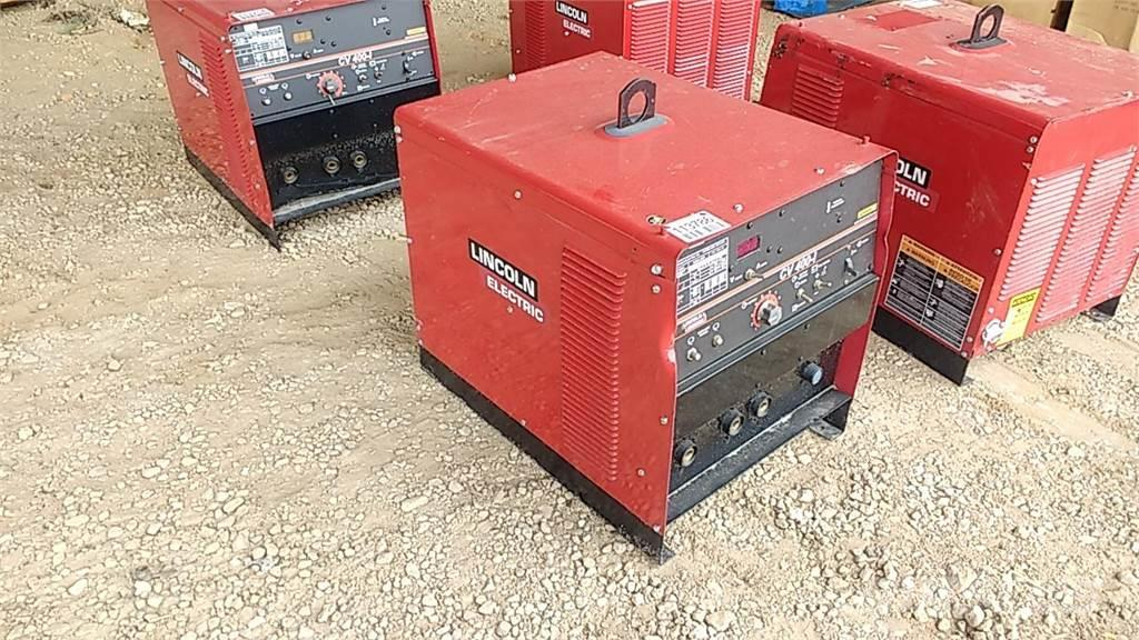 Buy used Lincoln CV-400-1 welding machines on auction