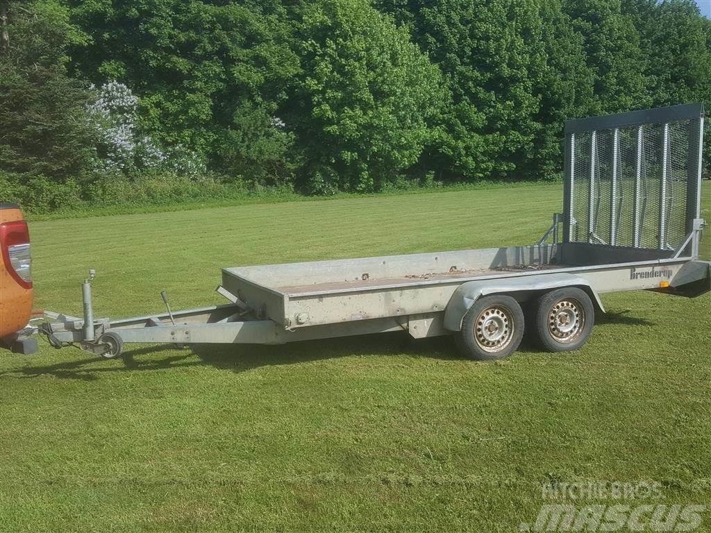 Brenderup Maskintrailer 2000 kg Special pro rampe/bagsmæk