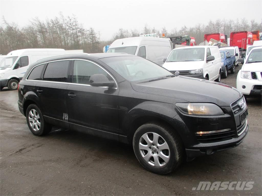 audi q7 occasion prix 16 757 ann e d 39 immatriculation 2006 utilitaire audi q7 vendre. Black Bedroom Furniture Sets. Home Design Ideas