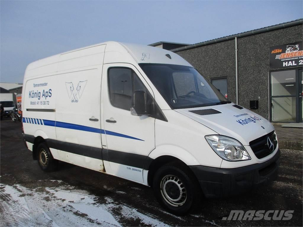 Mercedes benz sprinter 313 til salgs 2010 i danmark for Mercedes benz sprinter 313