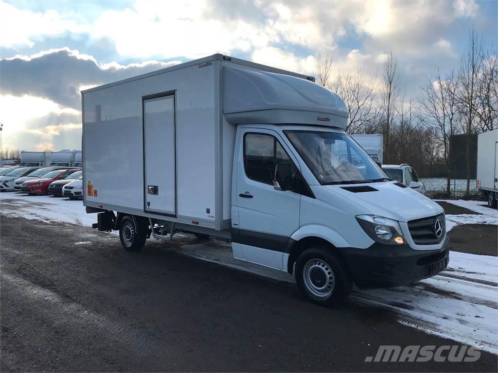 used mercedes benz sprinter 316 box body year 2017 price. Black Bedroom Furniture Sets. Home Design Ideas