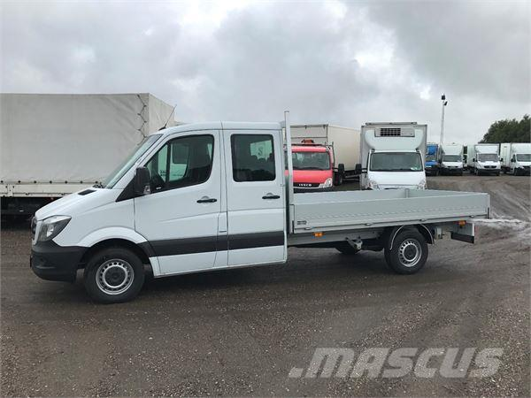 used mercedes benz sprinter 319 pickup trucks year 2017 price 55 787 for sale mascus usa. Black Bedroom Furniture Sets. Home Design Ideas