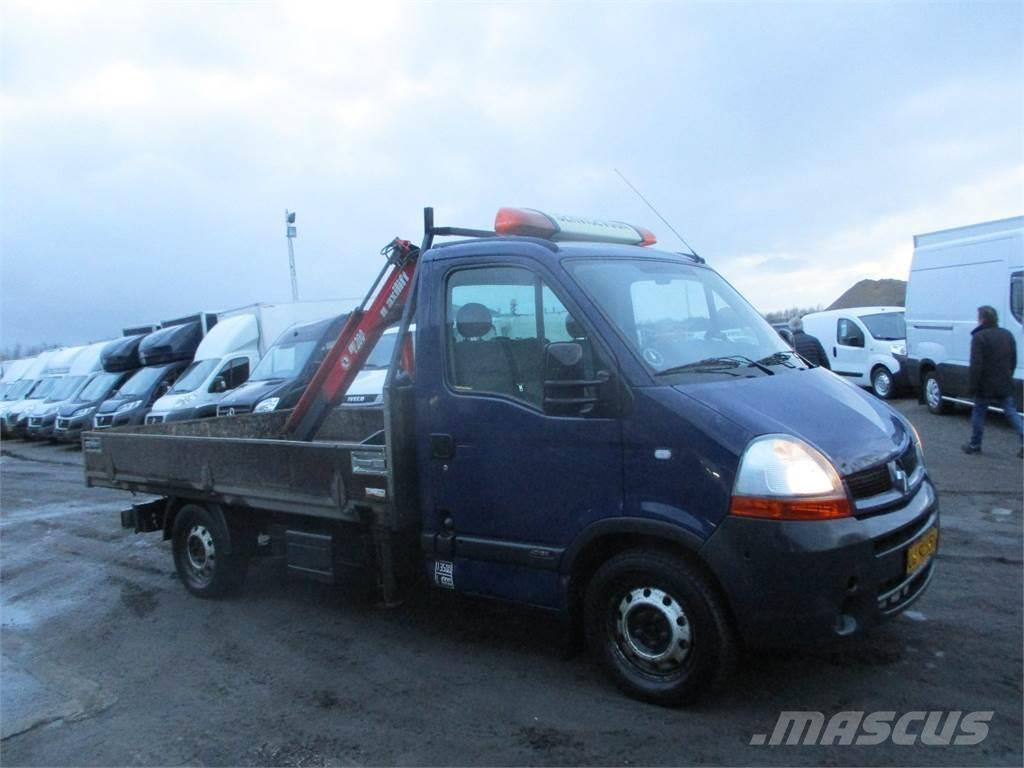 used renault master t35 flatbed dropside year 2006 price 9 117 for sale mascus usa. Black Bedroom Furniture Sets. Home Design Ideas