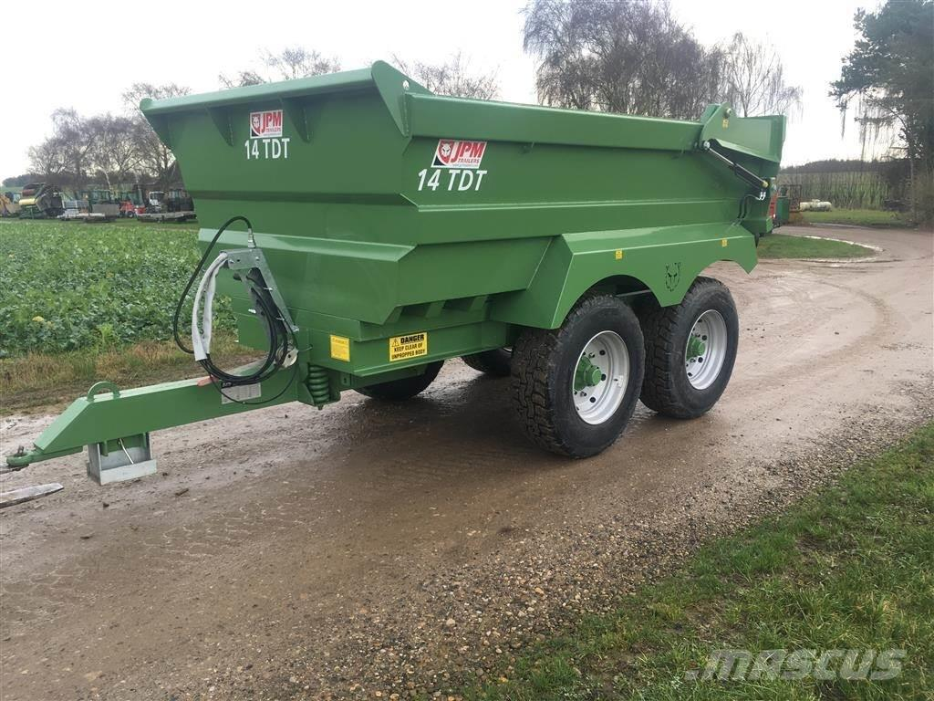 JPM 14 TDT Dumper-vogn