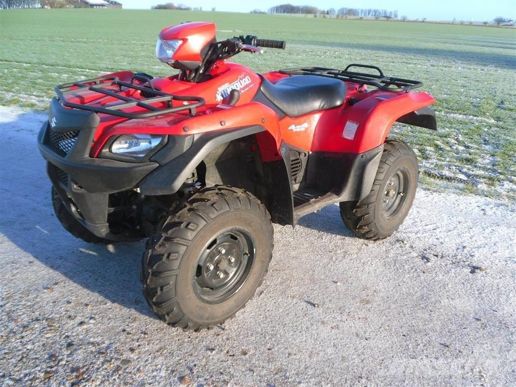 used suzuki king quad 700 kun 1550 km atvs price 7 814. Black Bedroom Furniture Sets. Home Design Ideas