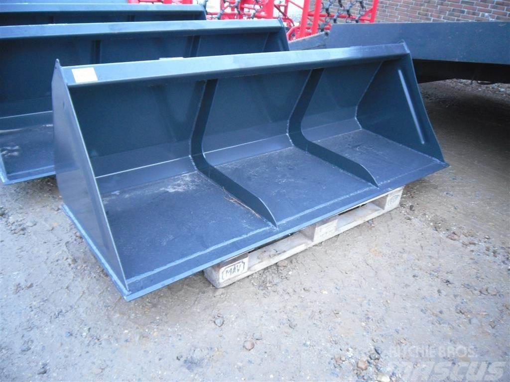 Universal 2,0 M frontlæsser-skovl