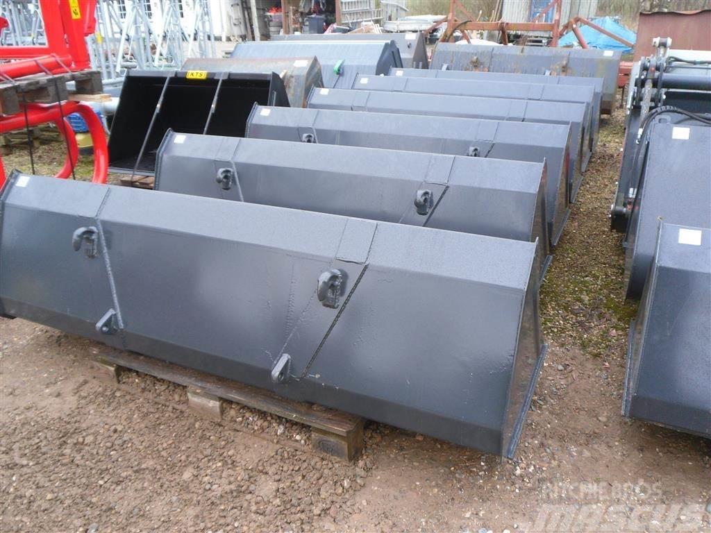 Universal 2.2 M frontlæsser-skovl