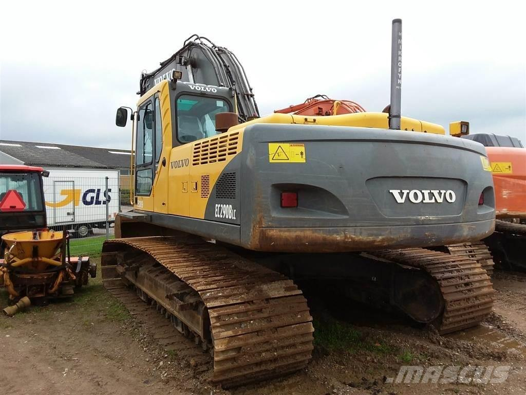 Volvo EC290B til salg Horsens Pris: kr. 345.000, Årgang: 2006 - Brugte Volvo EC290B Larvebånd ...