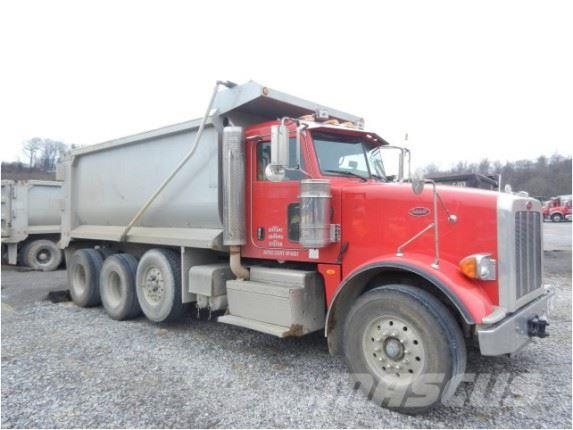 Peterbilt Semi Tri Axle Truck : Purchase peterbilt tri axle dump trucks bid buy on