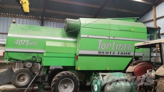 Deutz Moissonneuse-batteuse DEUTZ FAHR TOPLINER 4075HTS
