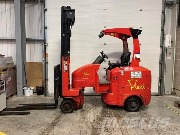 Flexi Narrow Aisle Articulated Counterbalance forklift t