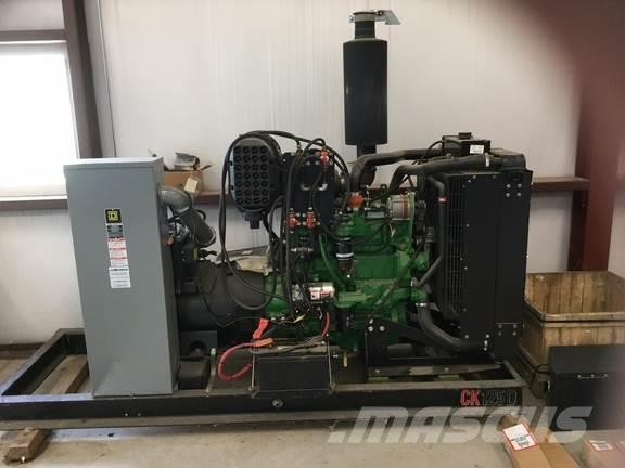Genset 125KW GENERATOR/with JOHN DEERE POWER UNIT، 2013، محركات