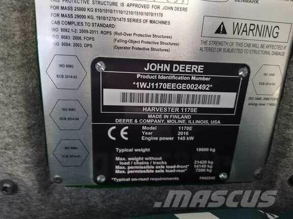 John Deere 1170E