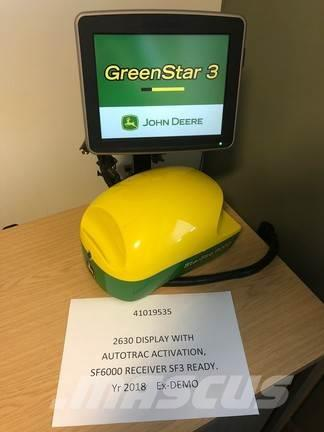 John Deere 2630 Display and SF6000 receiver