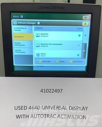 John Deere 4640 Greenstar Display