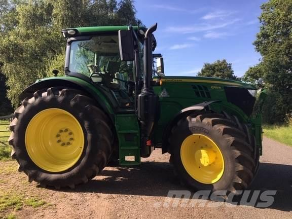 Used John Deere 6155R tractors Year: 2018 for sale - Mascus USA