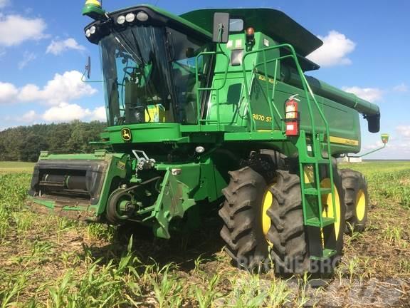 John Deere 9870 STS, 2010, Combine harvesters ...