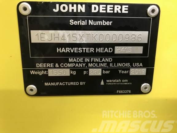 John Deere H415