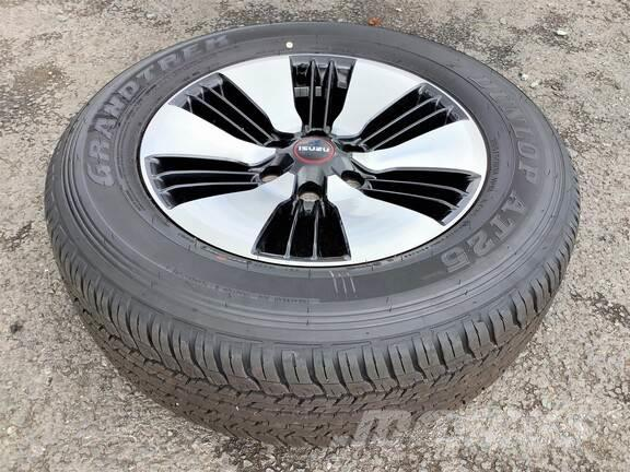 [Other] D-Max 18in Alloys with Tyres x4