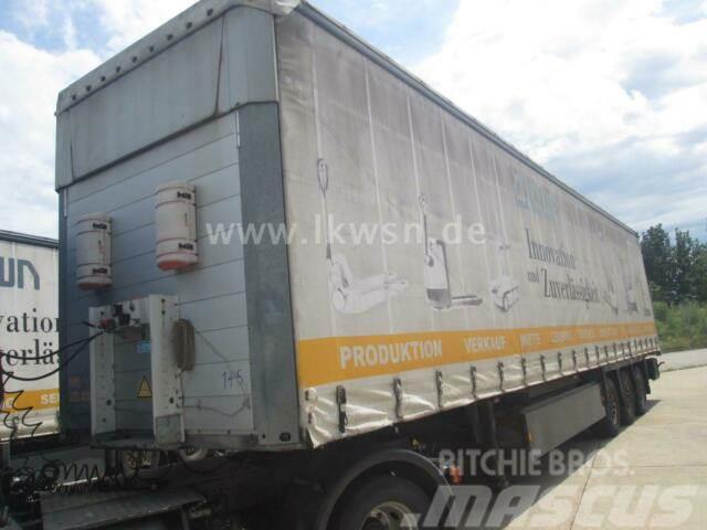 SCHMITZ SCS24-13,62EB Standard Pal-Kiste Lift SAF Hubdac