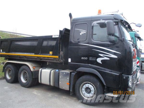 Volvo FH 500 6x4R DAUTEL Bordmatic RETARDER+VEB, 2013, Tipper Trucks ...