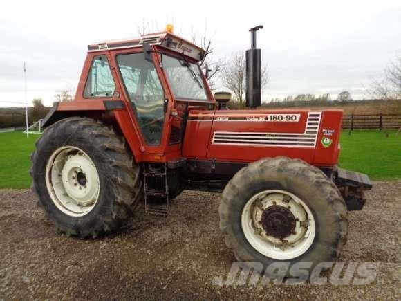used fiat 180 90 dt turbo powershift tractor tractors year 1993 price 25 117 for sale. Black Bedroom Furniture Sets. Home Design Ideas