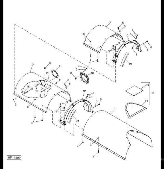 John Deere H206922
