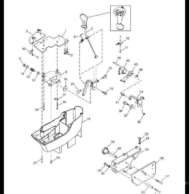 John Deere SE502814 Jedn. sterowania el. regen