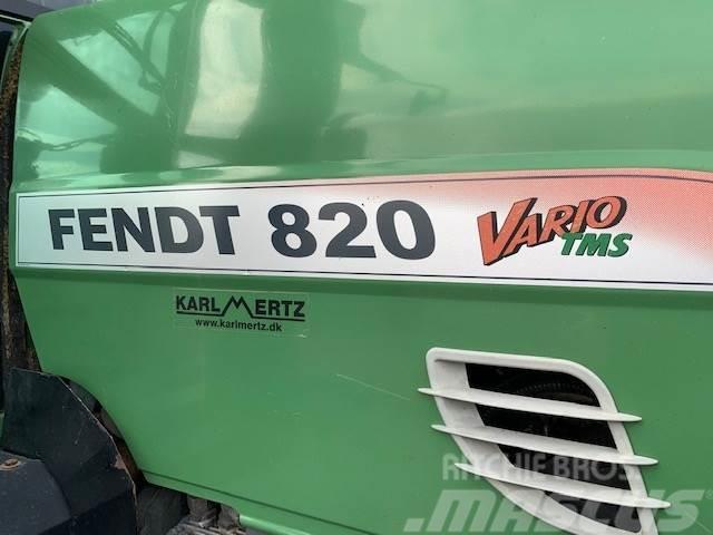 Fendt 820 Vario TMS frontlift-affjedret foraksel-luftbre