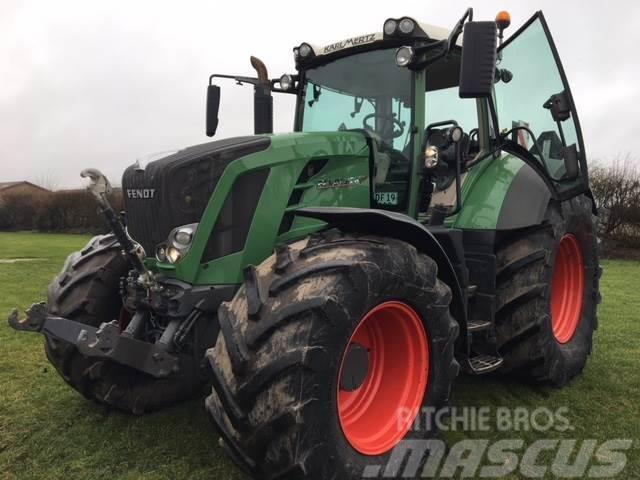 Fendt 828 Vario SCR Profi-Plus. 1800 kg frontvægt-hjulvæ