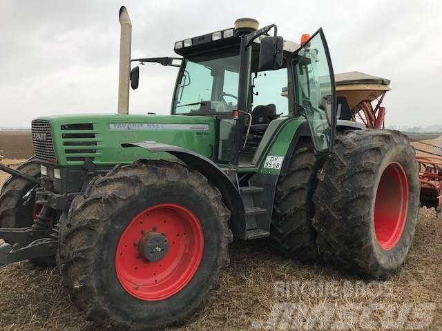 Fendt 514C Velholdt-frontlift-gode dæk-ny motor.