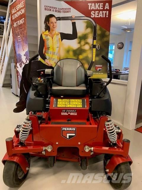 Ferris ZT2600 IS m/52 klipper(132 cm)-3 cyl Yanmar 24 HK-