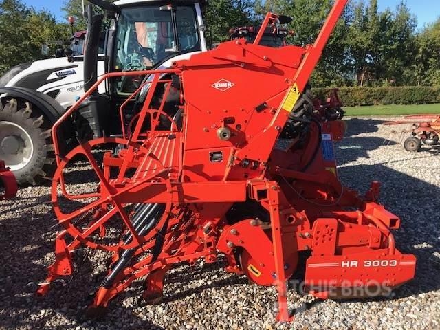 Kuhn HR 3003D M/Integra såmaskine(KUN SÅET 220 HA)