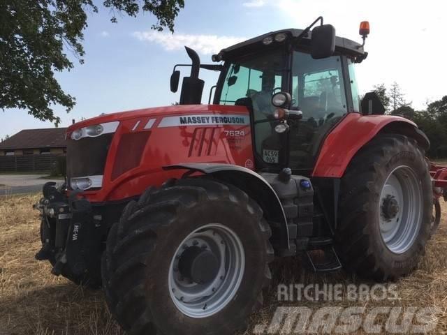 Massey Ferguson 7624 Dyna-VT m/frontlift