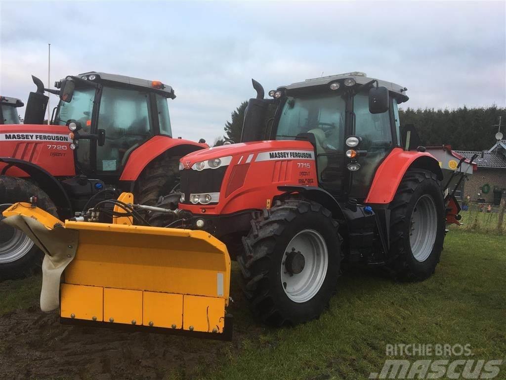 Massey Ferguson 7715 Dyna VT M/Bredahl SG2 saltspreder-Snowline sn