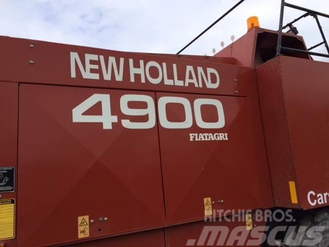 New Holland 4900 Diverse dele fra skrot presser.