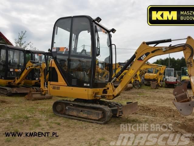 Caterpillar 301.4c mini-koparka jcb 8016 8018