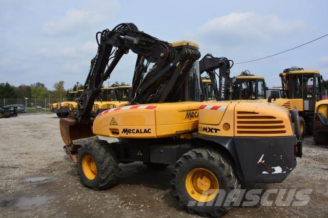 used mecalac 12 mxt koparko adowarka backhoe loaders year 2007 price 31 915 for sale. Black Bedroom Furniture Sets. Home Design Ideas
