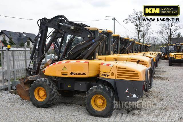 Mecalac 12 mxt koparko-ładowarka