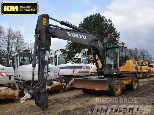 Volvo ew 180c 140 160 cat 315 caterpillar 316 liebherr