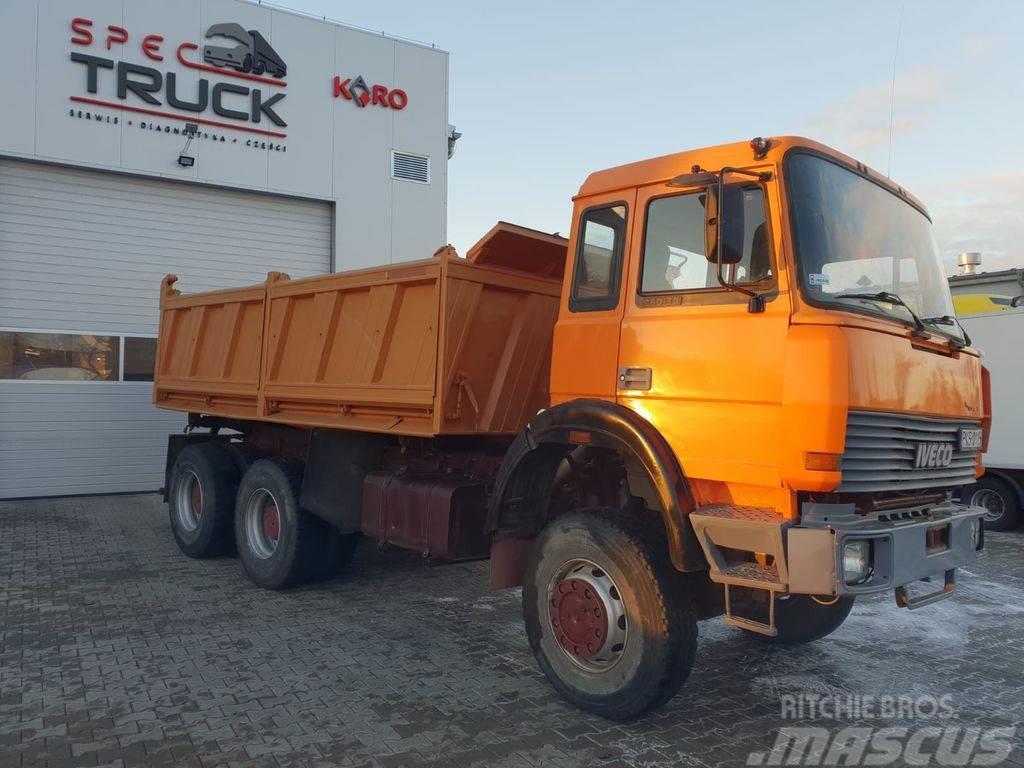 Iveco 330-30, 6x6!!!!Full Steel, Manual ZF , Big Axle, N