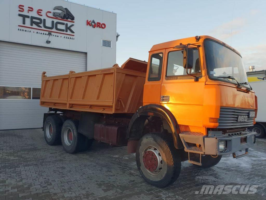 Iveco 330-30, 6x6!!!!Full Steel, Manual ZF , Big Axle, N