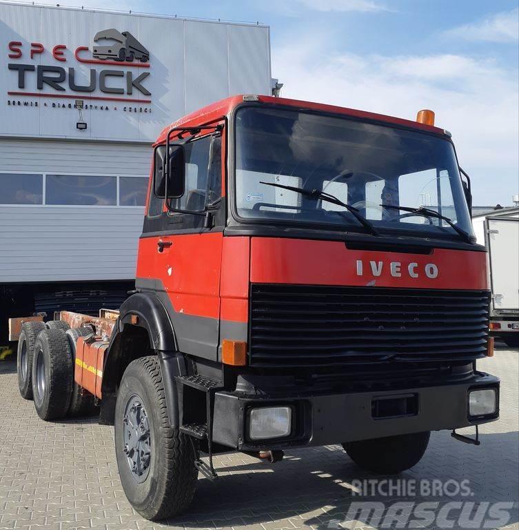 Iveco 330.35, 6x6, Steel/Steel, Cooled water, Big axles